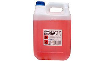 Alcool denaturato da ml. 500, 750, litro