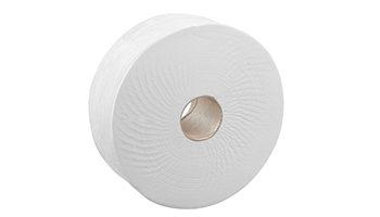 Confezione (pz. 6) igienica jumbo roll 2 veli riciclata gr. 800 il rotolo